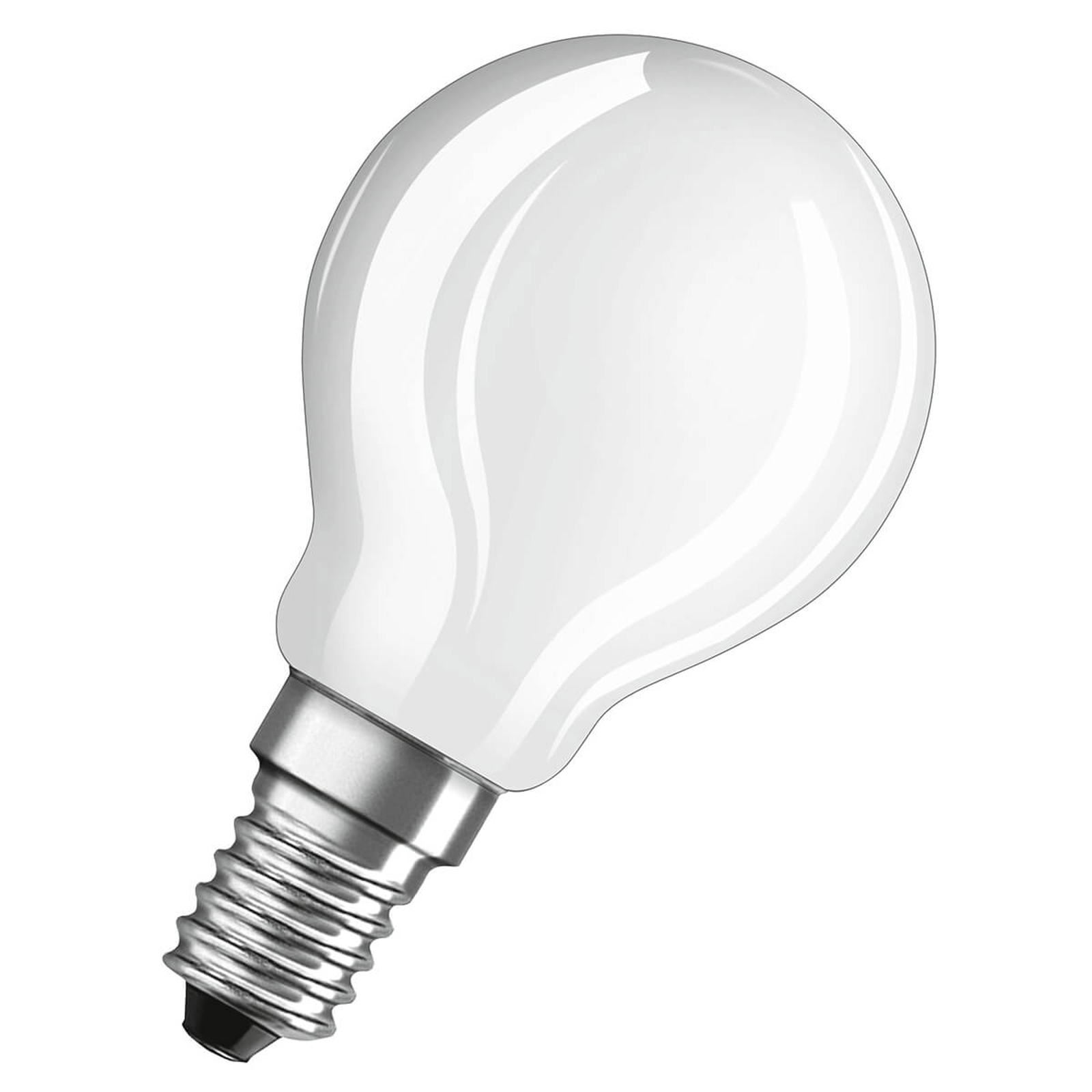 OSRAM LED-Tropfenlampe E14 4W tageslicht matt