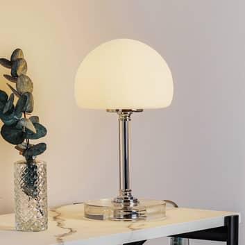 Ancilla LED-bordlampe med dæmper, forkromet