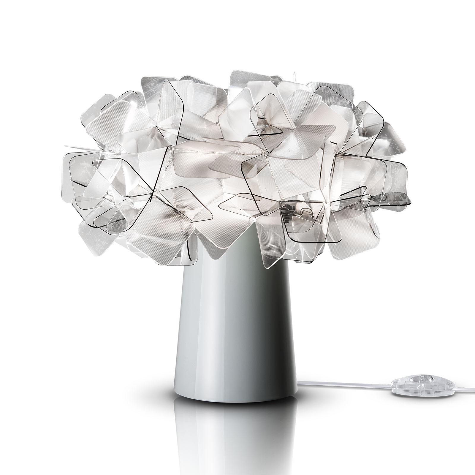 Slamp Clizia lampe à poser LED, batterie, fumée