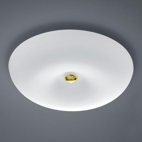 BANKAMP Vanity lámpara techo LED vidrio atenuable