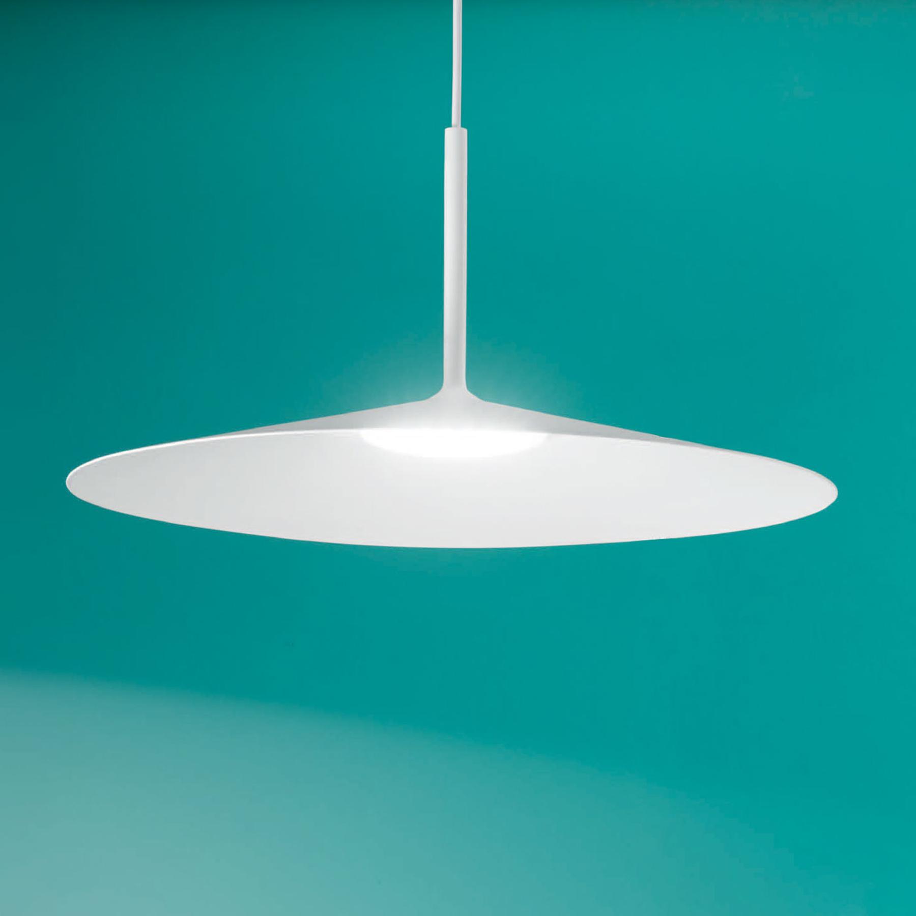 Lampa wisząca LED Poe Plus, biała