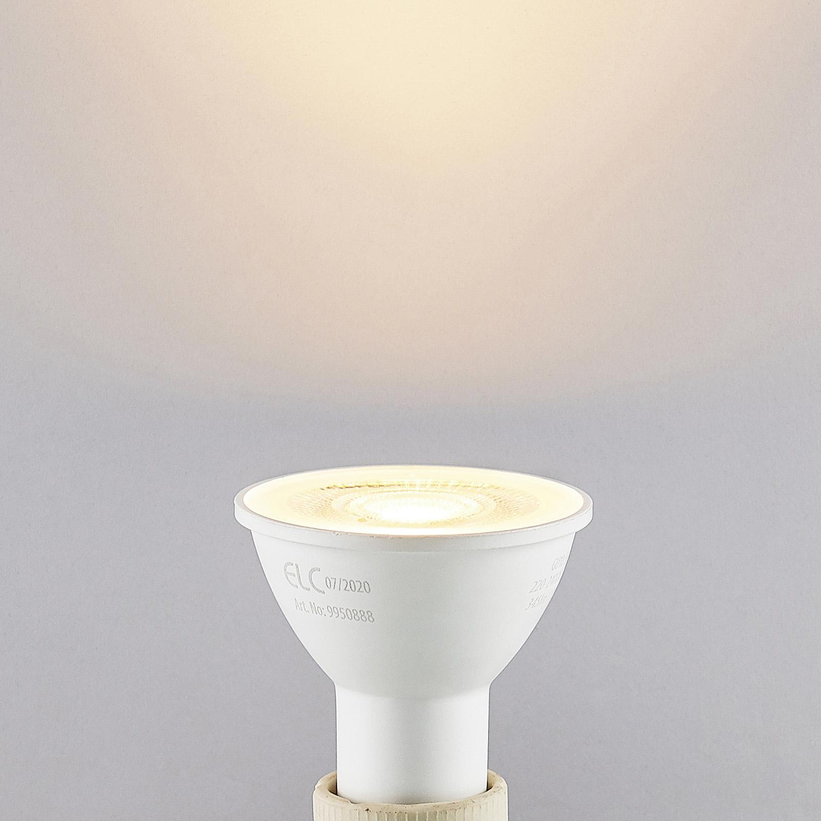 ELC LED-Reflektor GU10 5W 10er-Pack 2.700K 36°