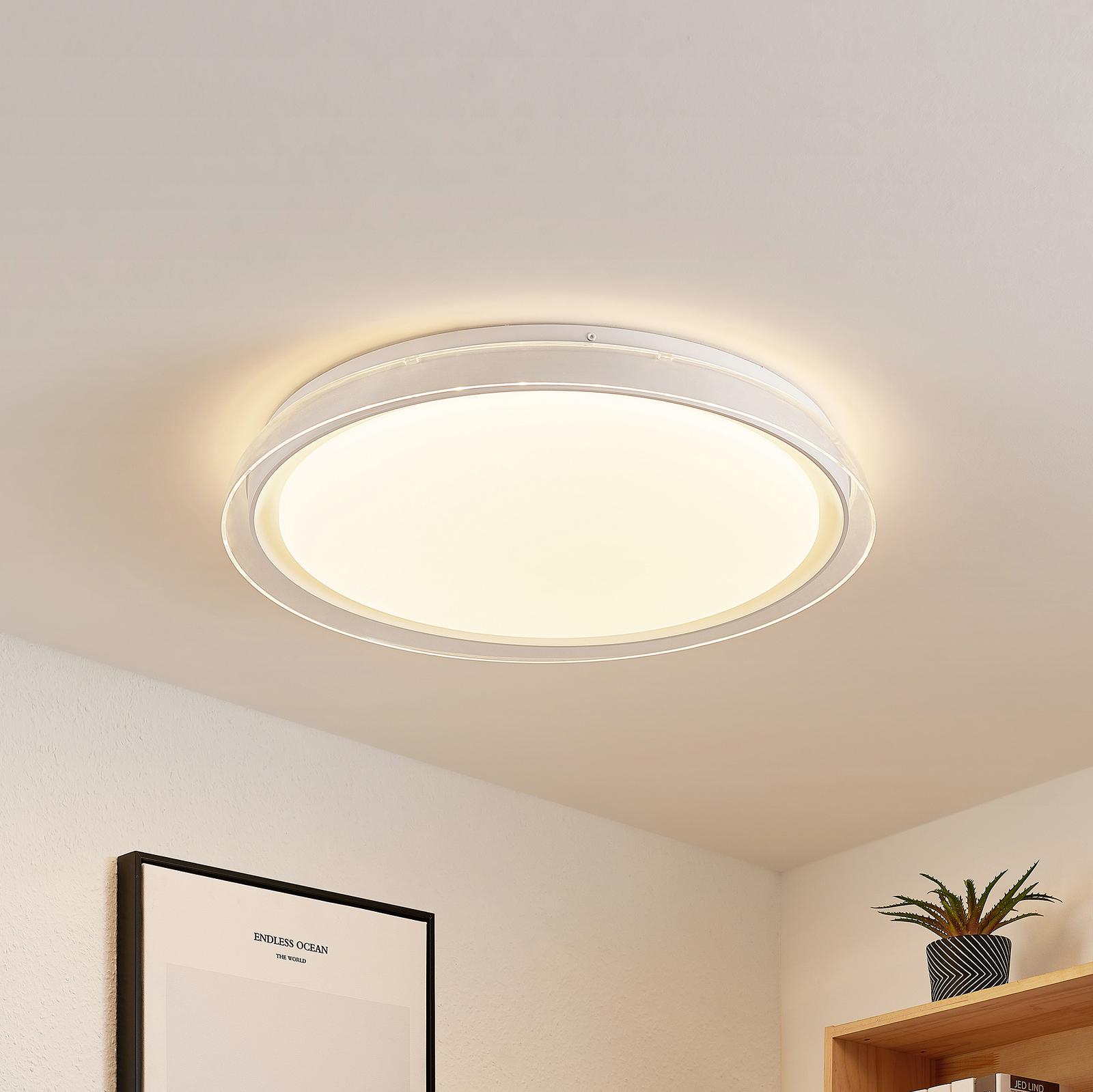 Lindby Sleya LED stropní svítidlo, CCT stmívatelné