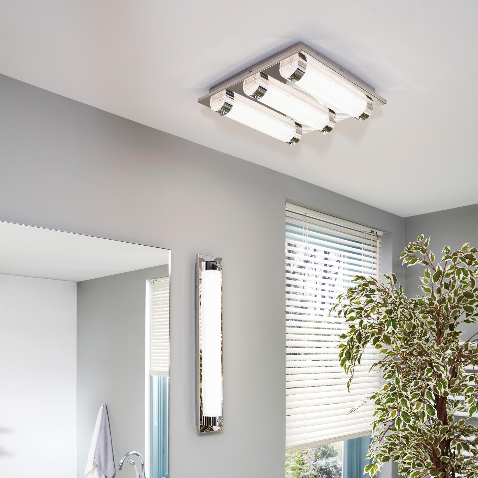 Lámpara LED de techo Tolorico, 57 cm alargada