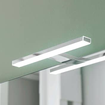 Esther 2 LED-spejllampe, krom