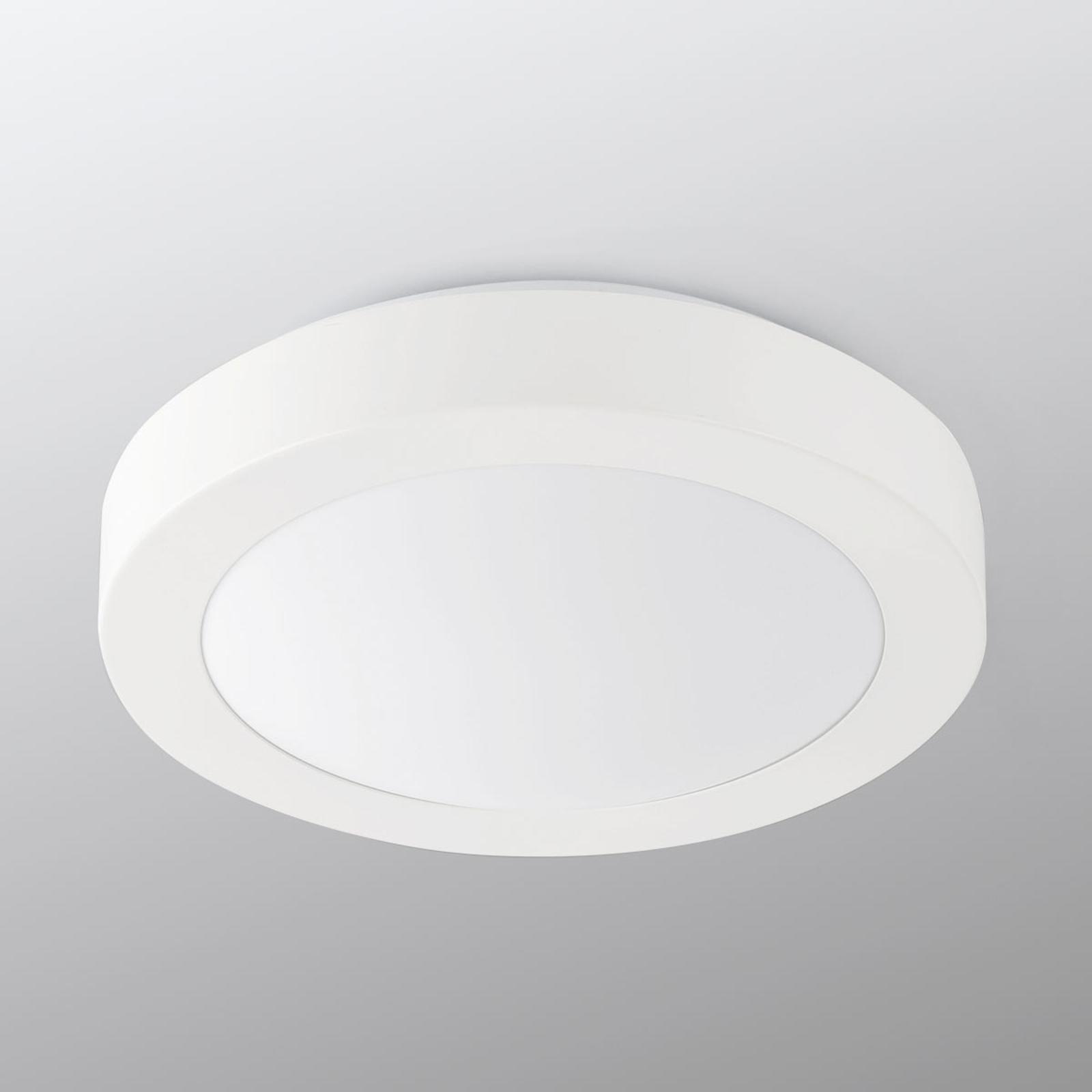 Ronde LED badkamer plafondlamp Logos Ø 27 cm