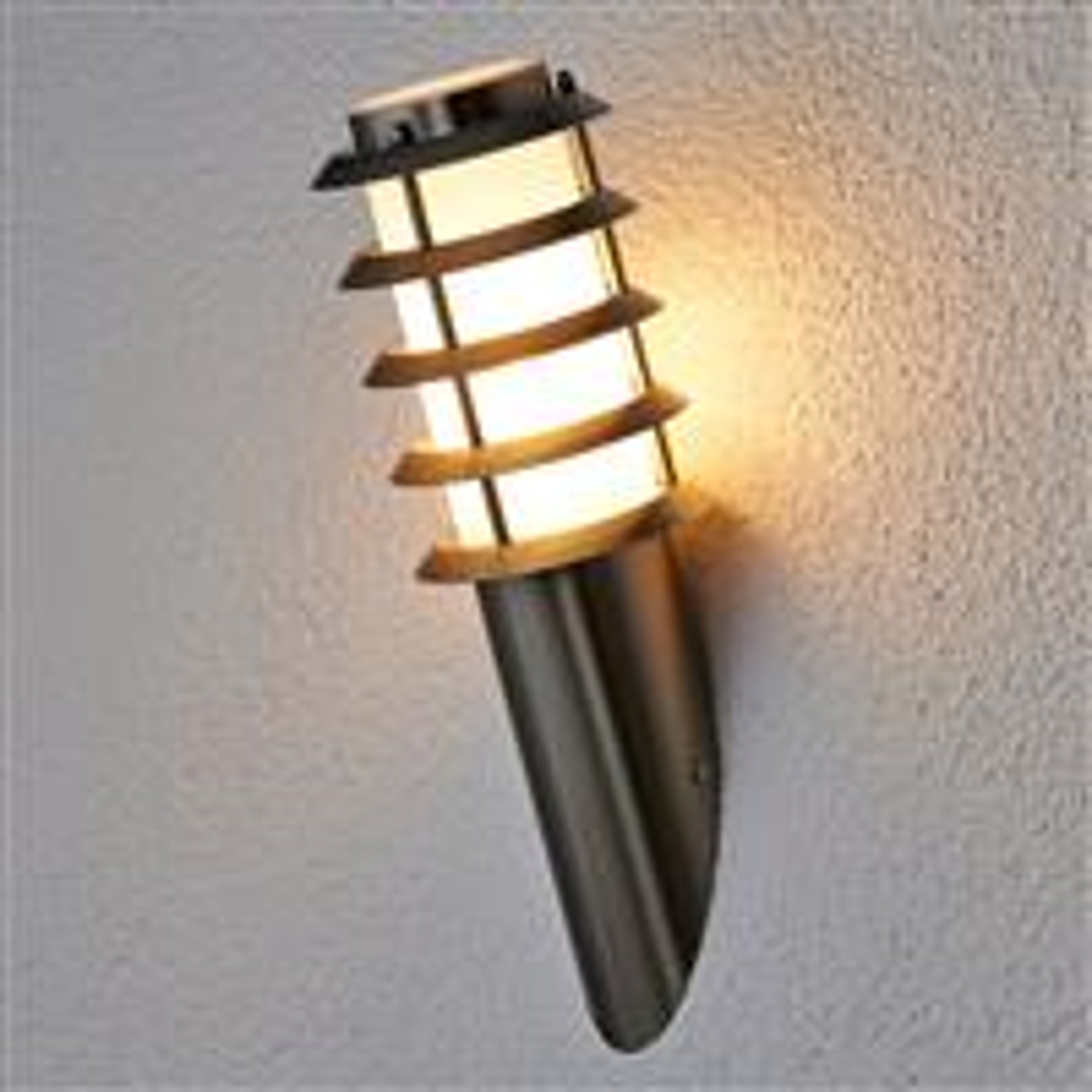 Udendørs væglampe Selina i fakkelform