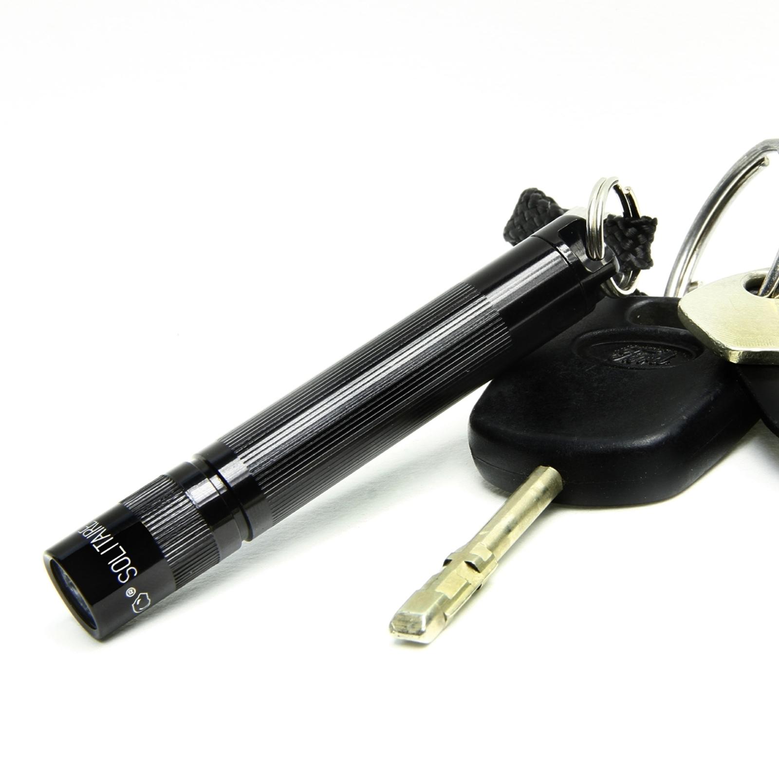 Handzame zaklamp Maglite Solitaire zwart