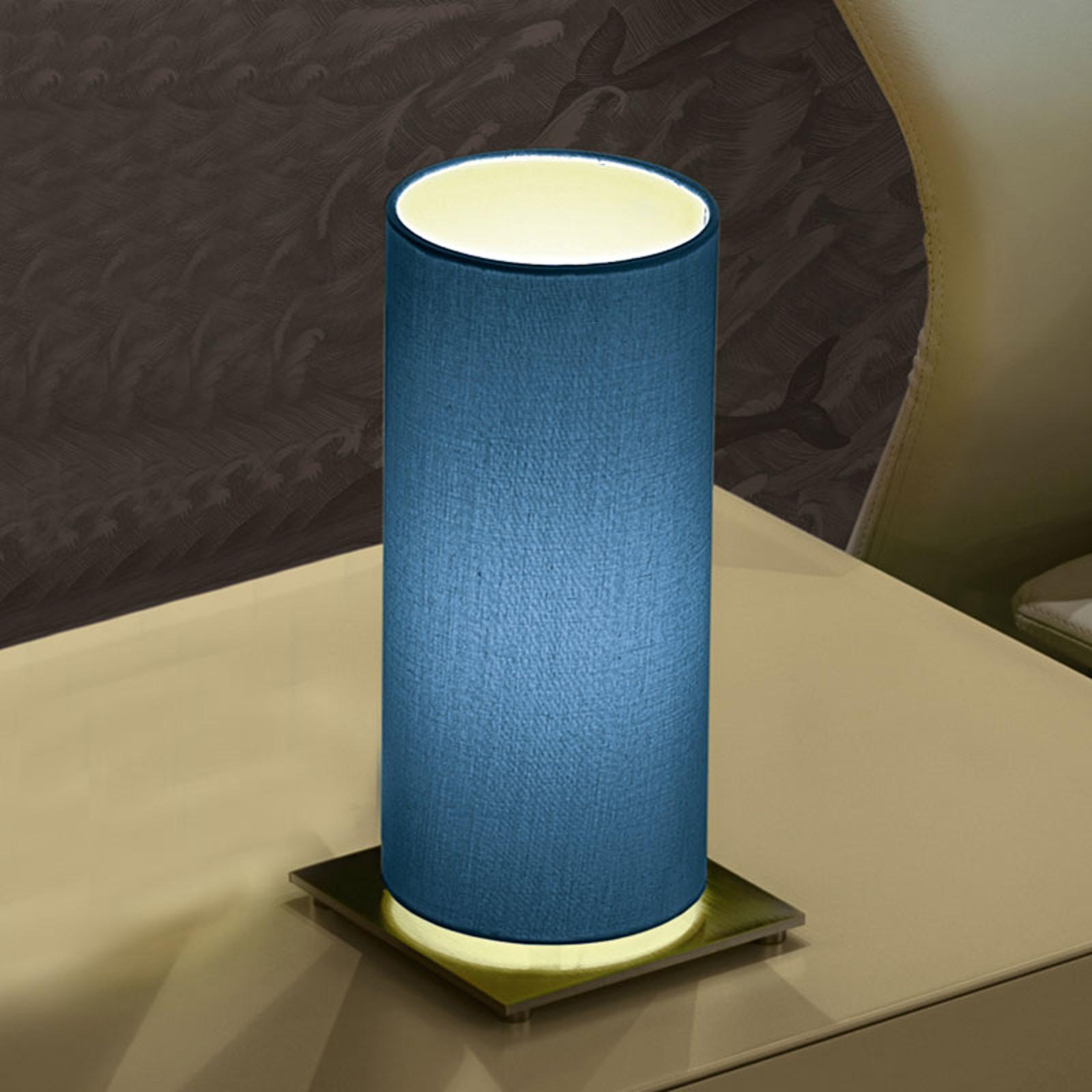 Modo Luce Lost lampe à poser Ø 18cm bleue