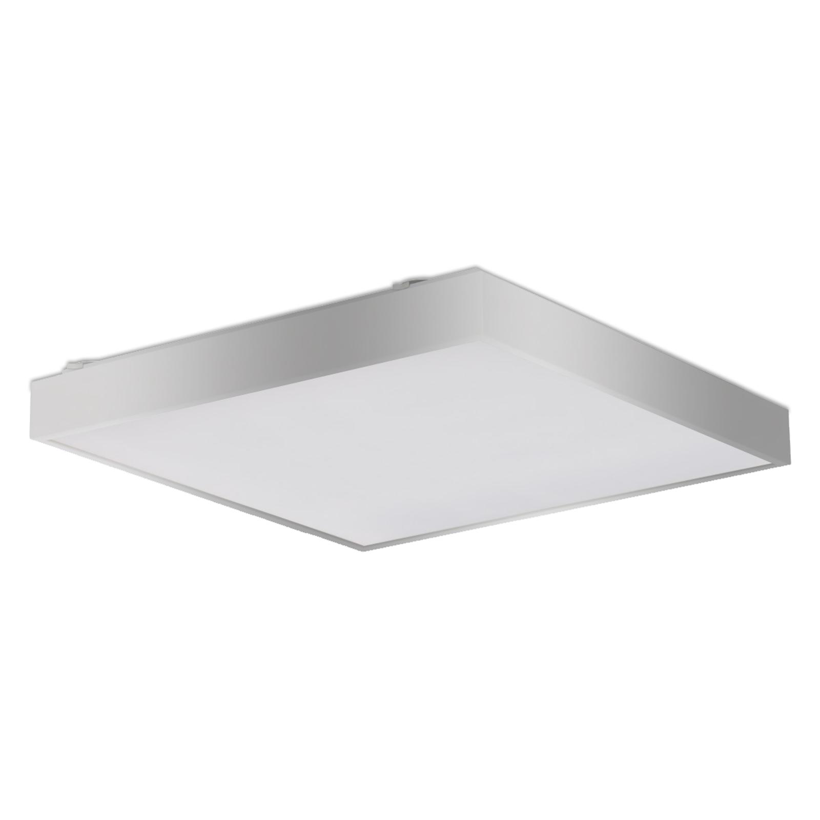 Oszczędna lampa sufitowa Q6 srebrna EVG