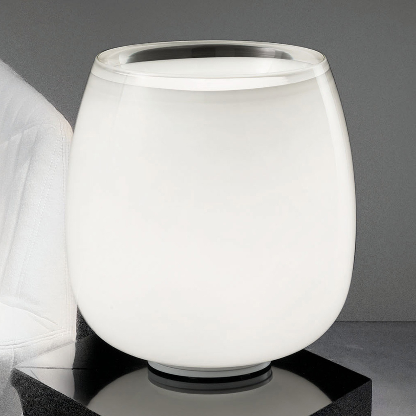 Implode - lampe à poser en verre Ø 38cm