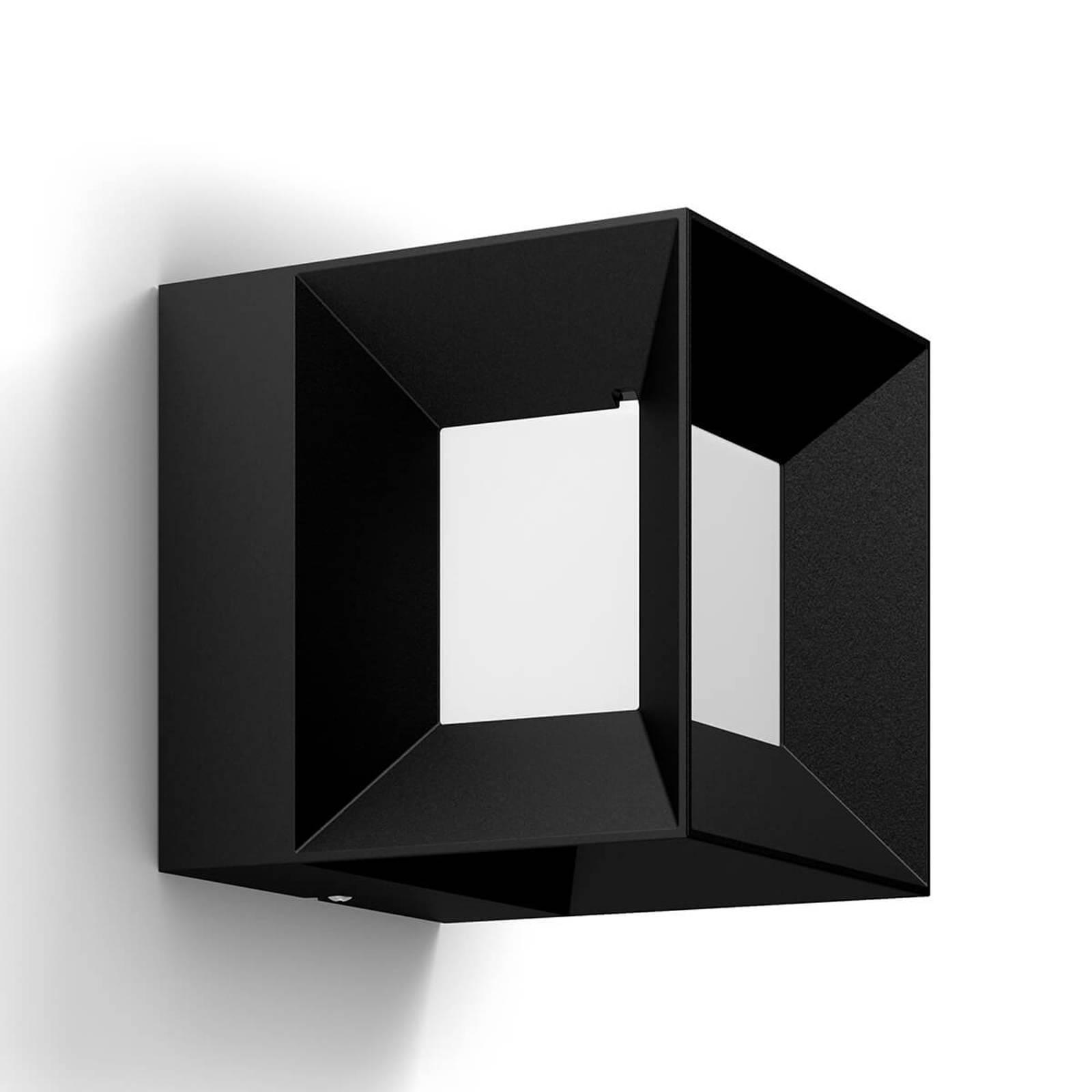 Parterre - dobbelsteenvormige Led-buitenwandlamp