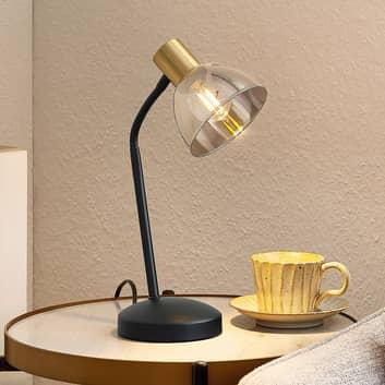 Lindby Aniol stolní lampa, skleněné stínidlo