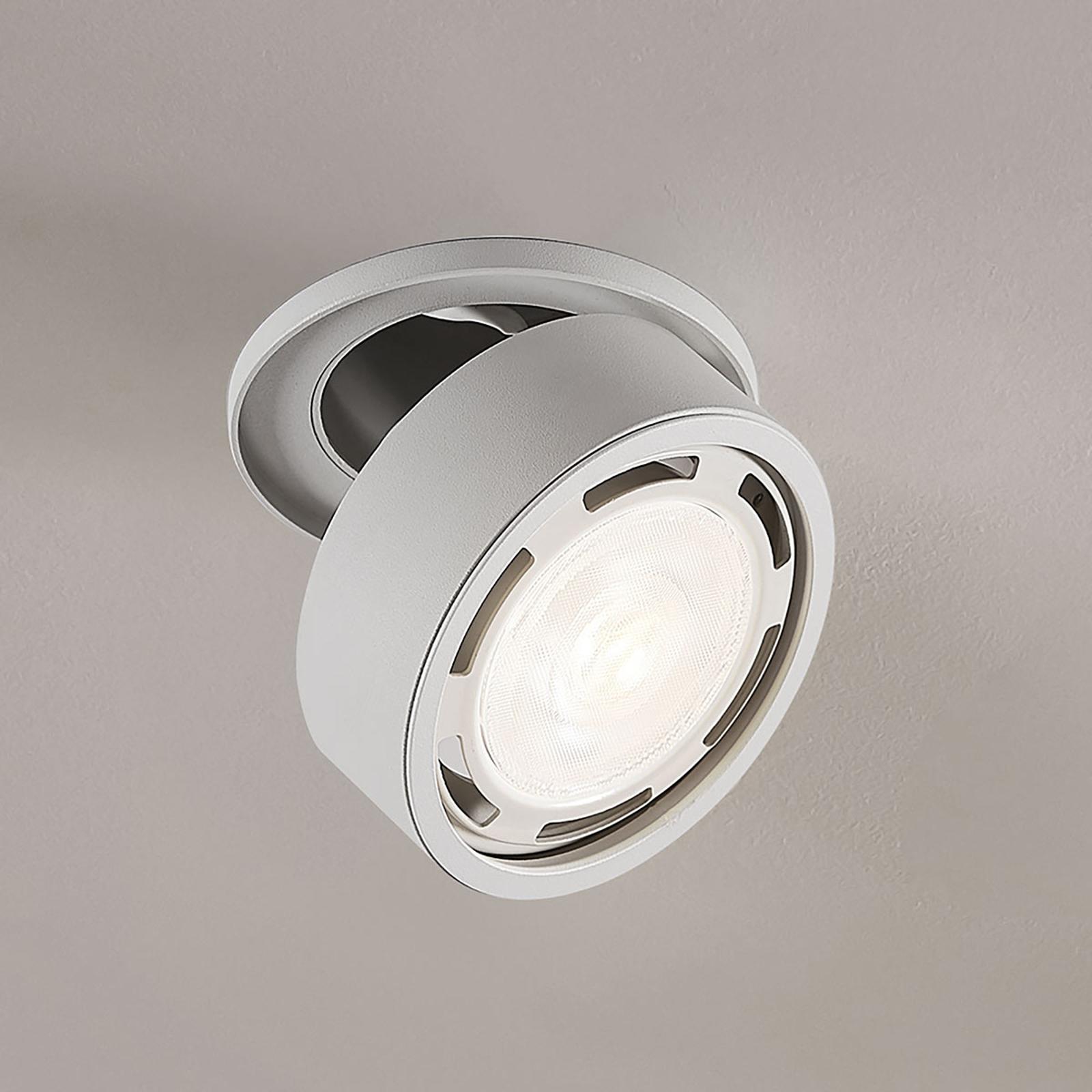 LED-Strahler Dafina, GU10 dimmbar, weiß