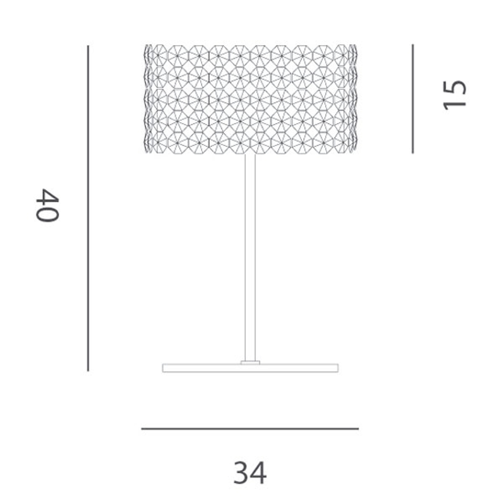 Edel krystallpendellampe BACCARAT transparent