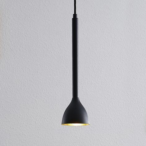 Suspension Nordwin, 1lampe, noir-or