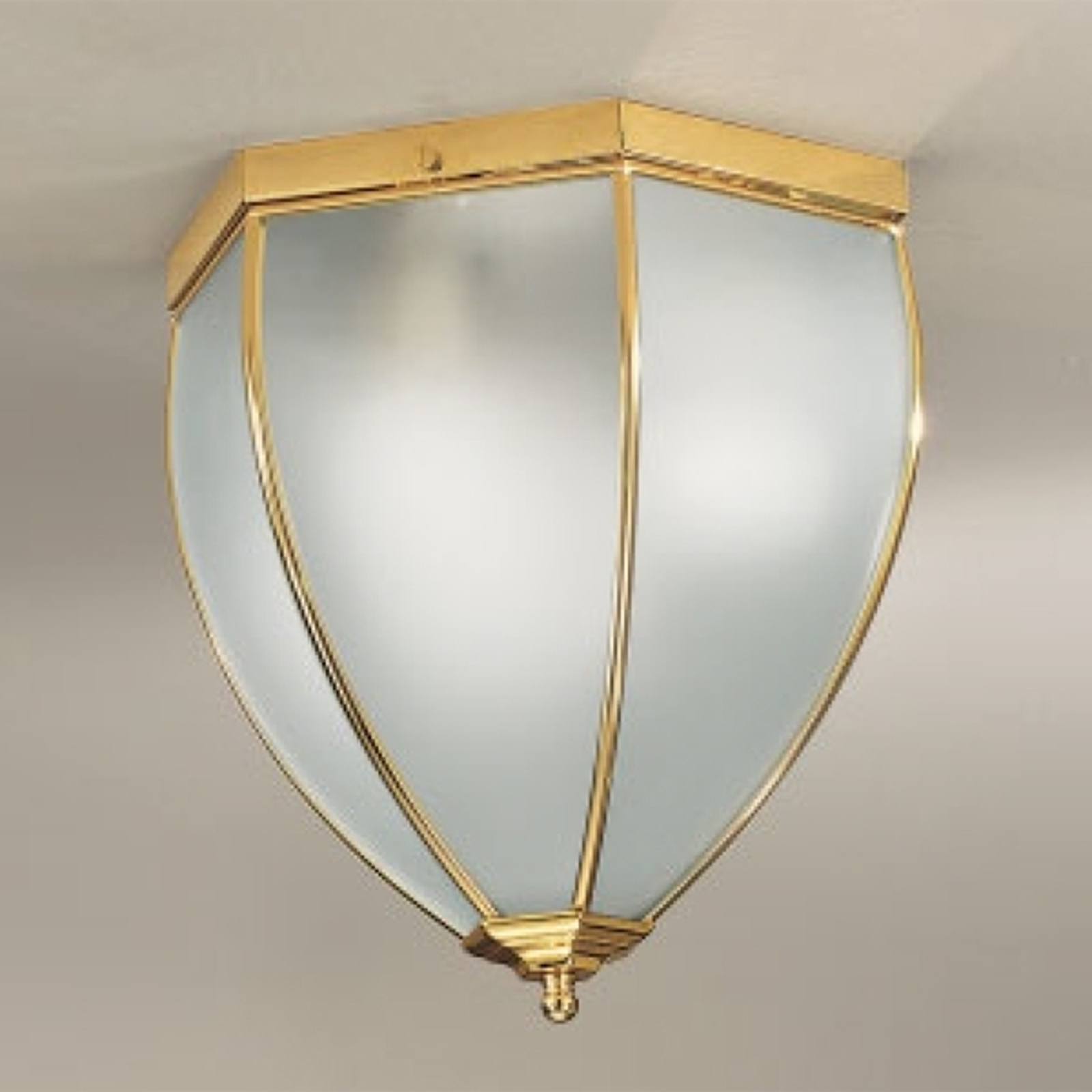 Lámpara de techo clásica Dina