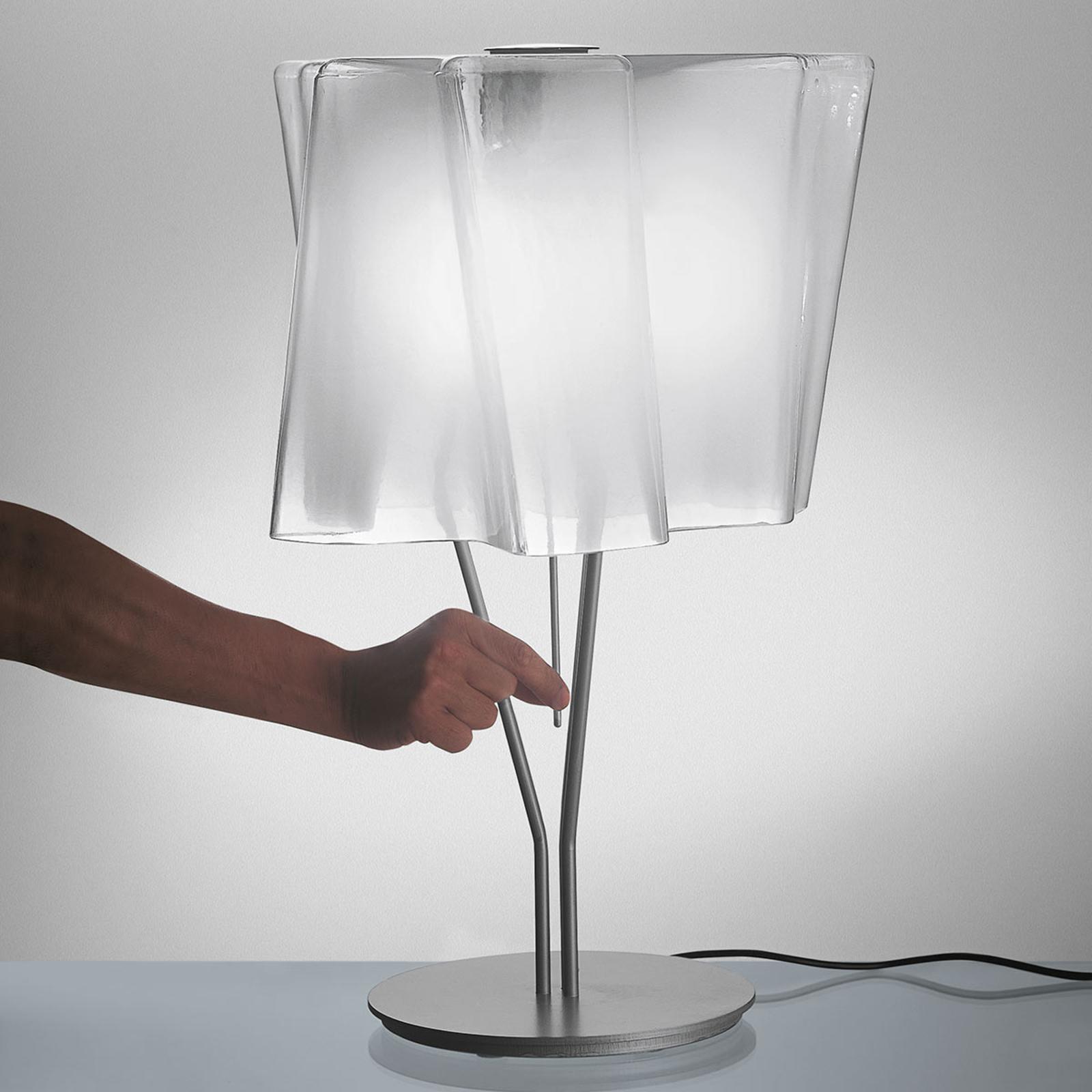Artemide Logico tafellamp 64 cm zijdeglans/alu