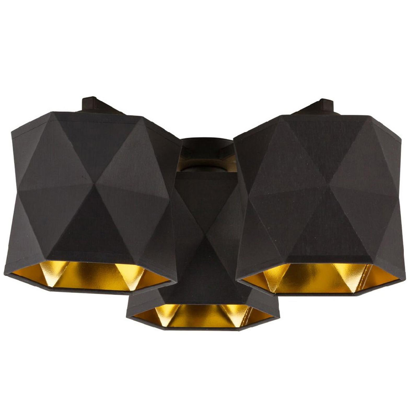 Siro taklampe, 3 lyskilder Ø 39 cm