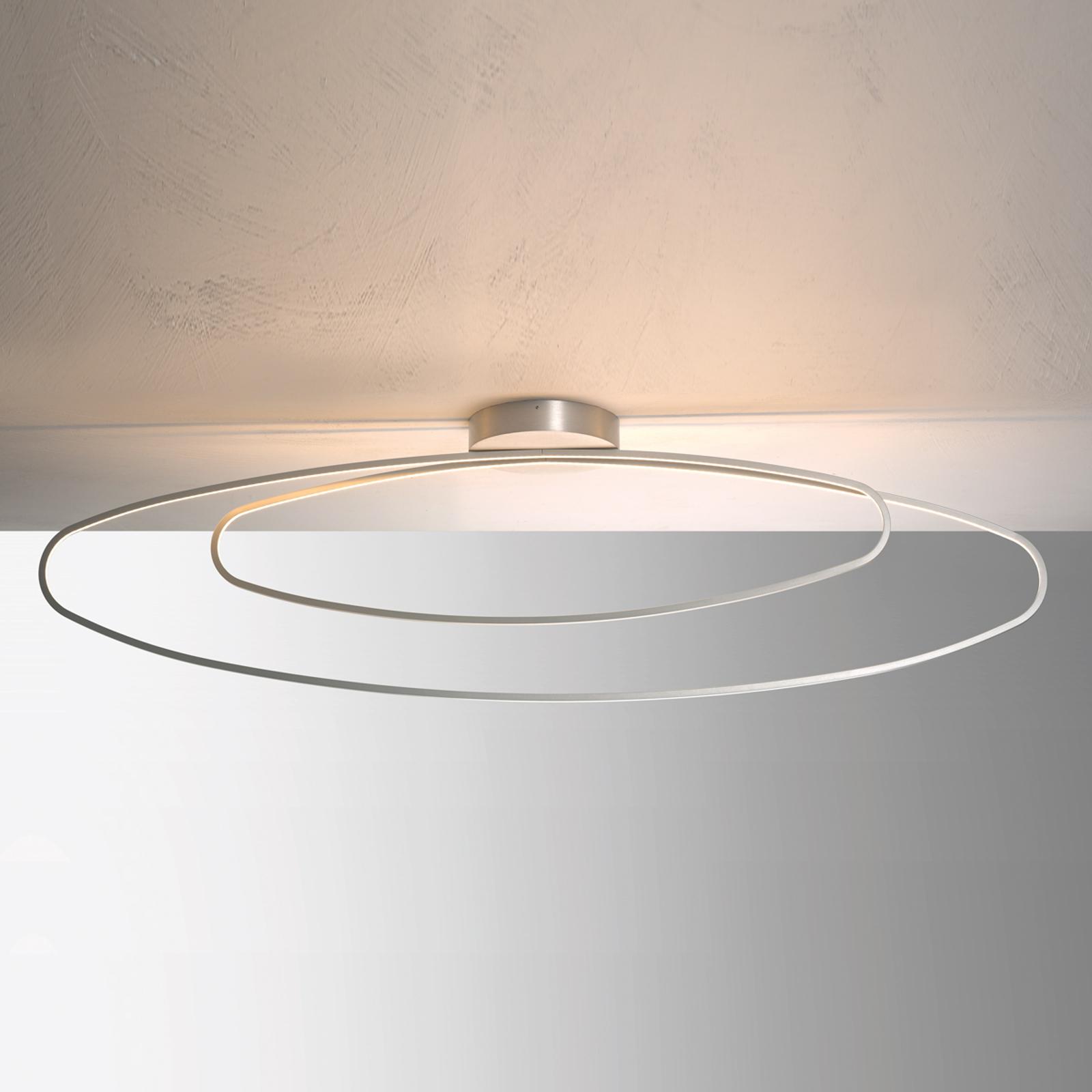 Bopp Flair - filigrane LED-Deckenlampe, alu