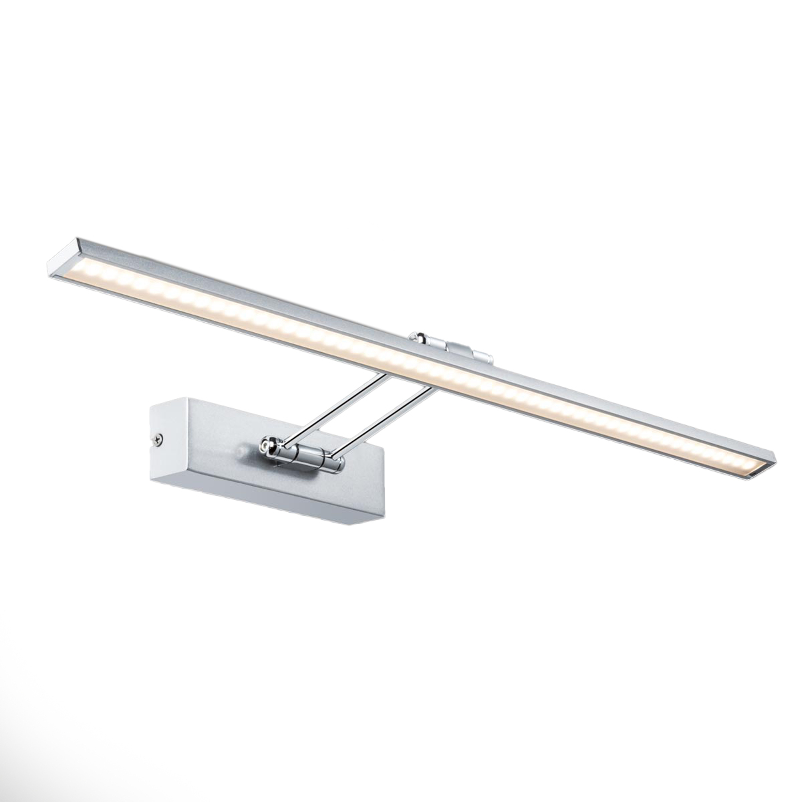 Nickelfärgad Galeria LED-bildlampa Beam Sixty