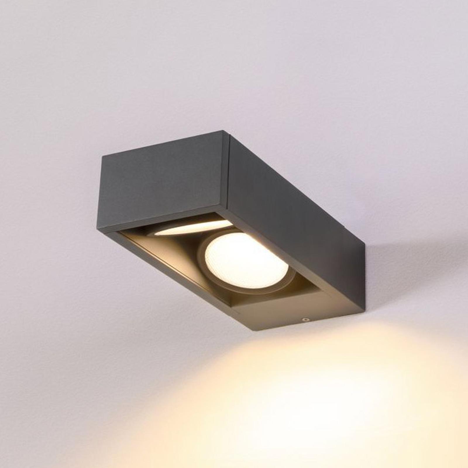 SLV Eskina Frame LED-Außenwandlampe 2-flg. CCT