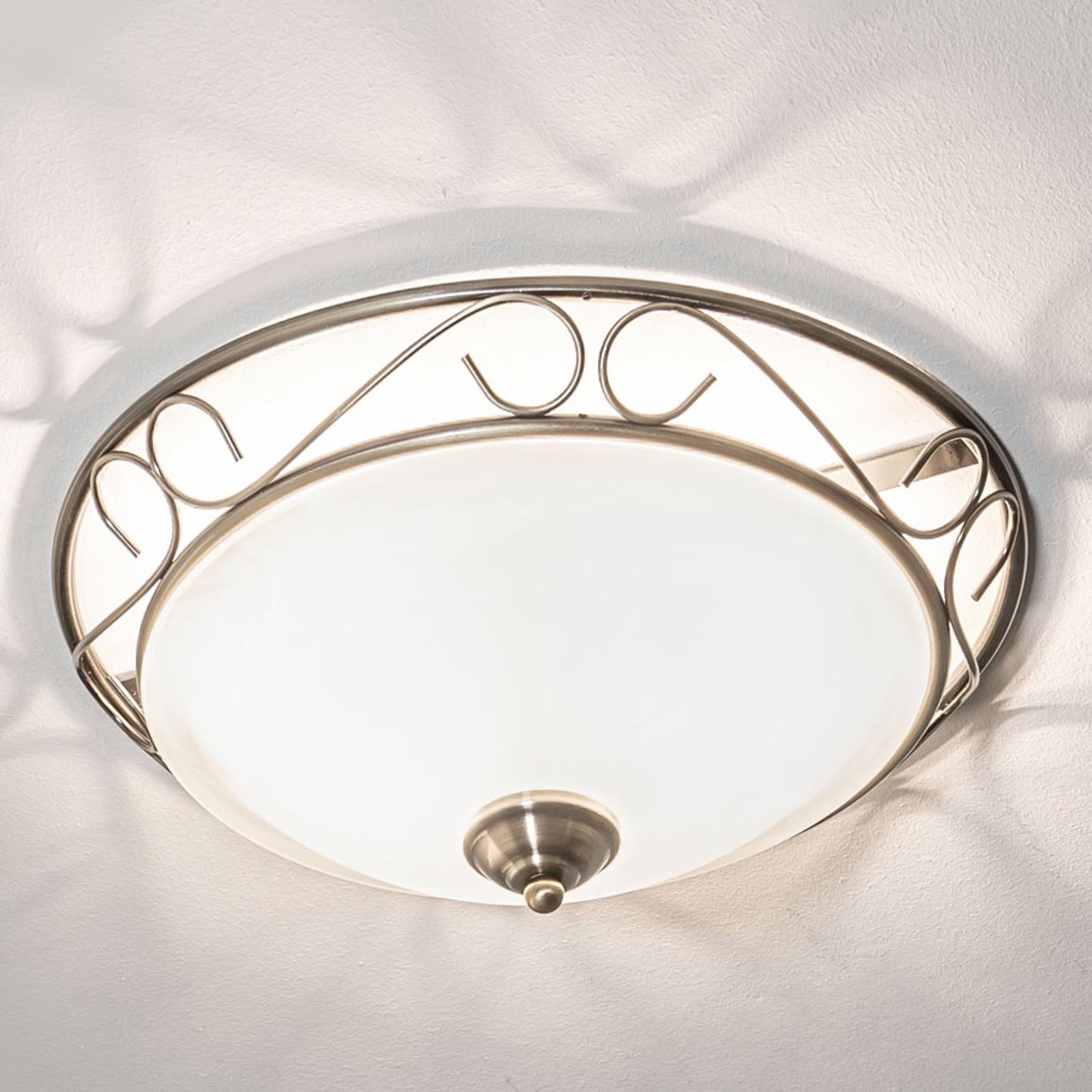 Anneke - romantisch-verspielt wirkende Deckenlampe