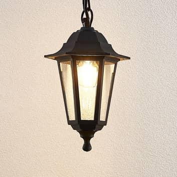 Zewnętrzna lampa wisząca Nane w kształcie latarni