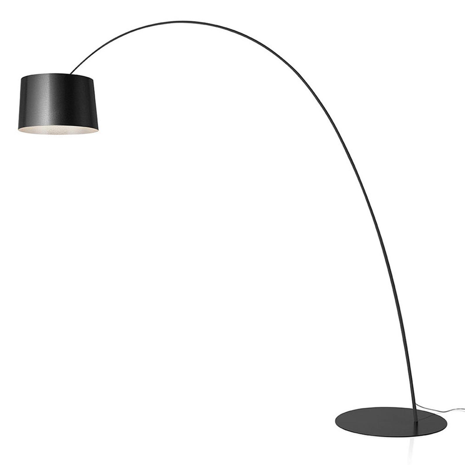 Foscarini Twiggy MyLight LED-Stehlampe CCT graphit