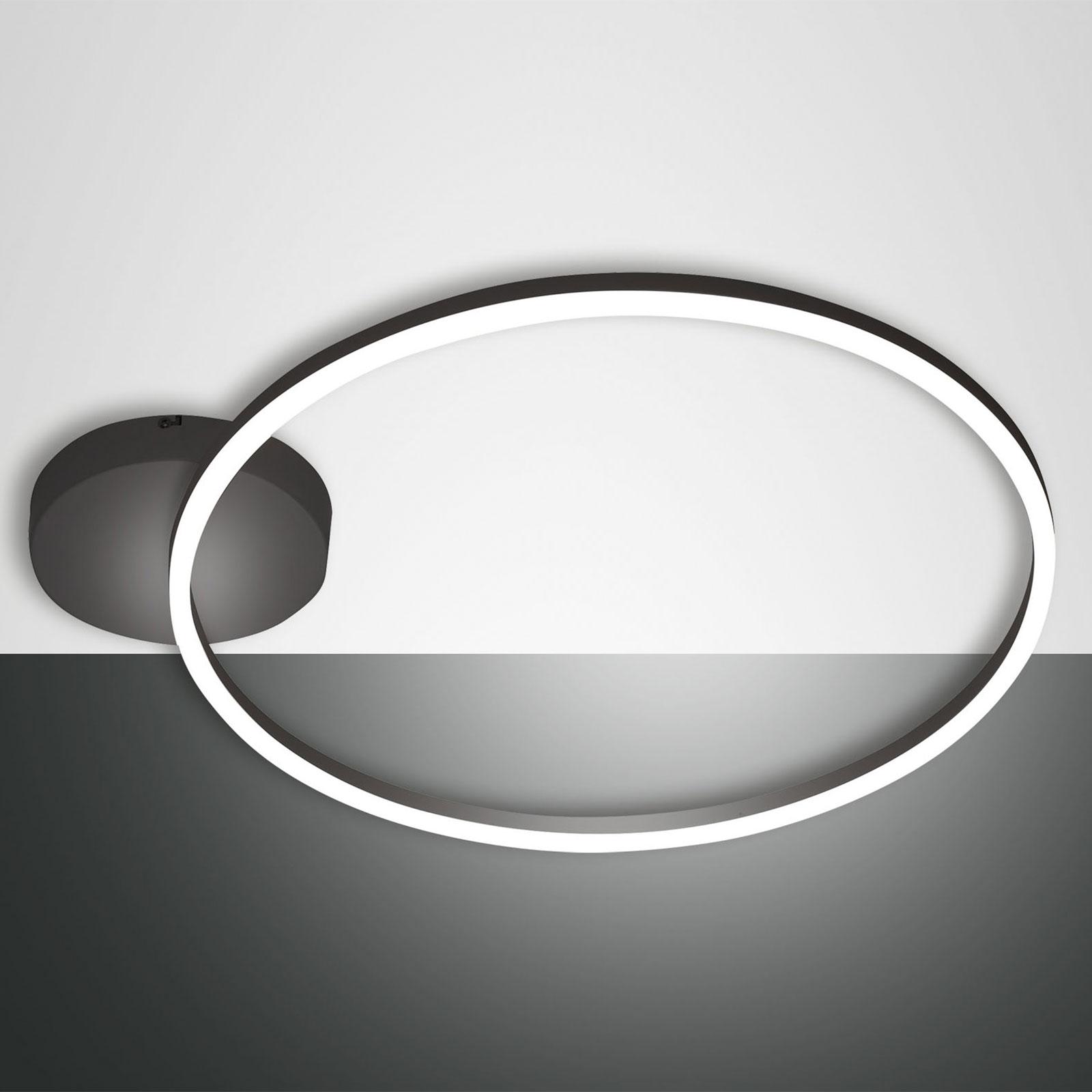 LED-Deckenleuchte Giotto 1fl., schwarz