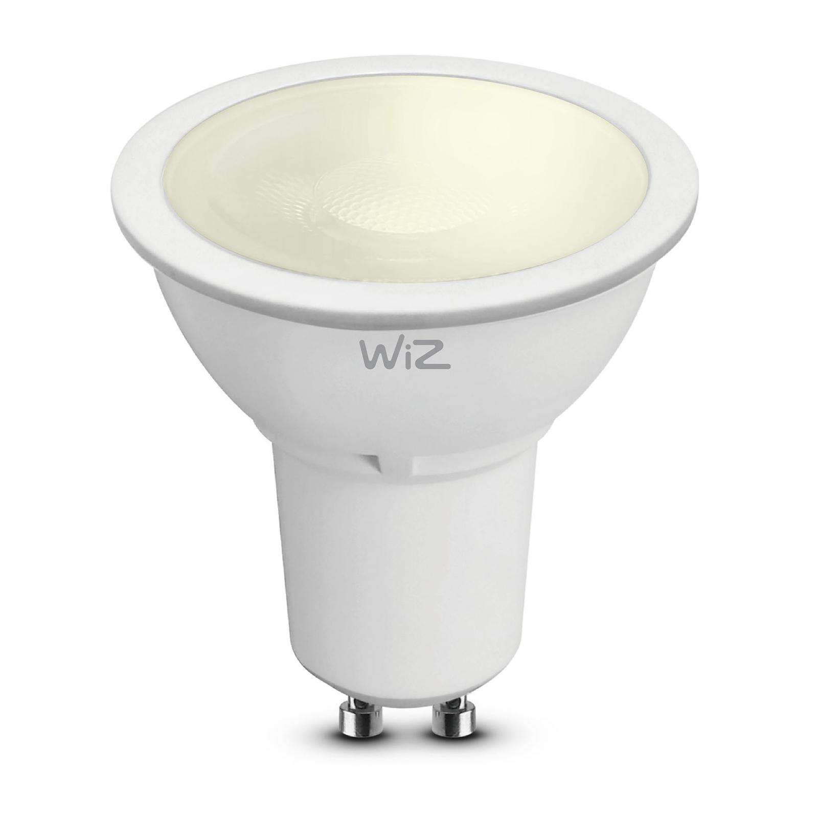 WiZ GU10 réflecteur LED mat Ø5cm 5,5W 2700K