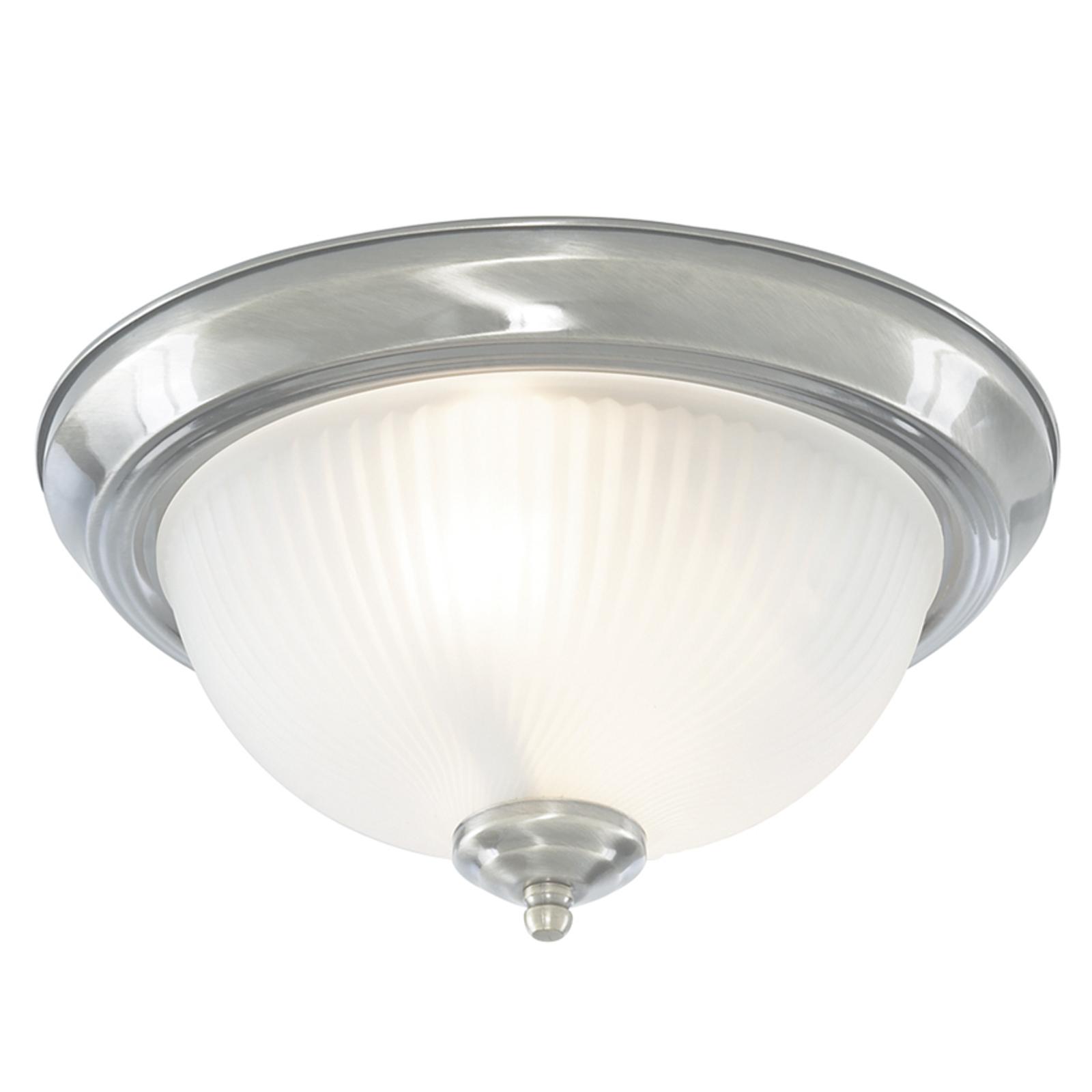 Ryflowana lampa sufitowa American Diner