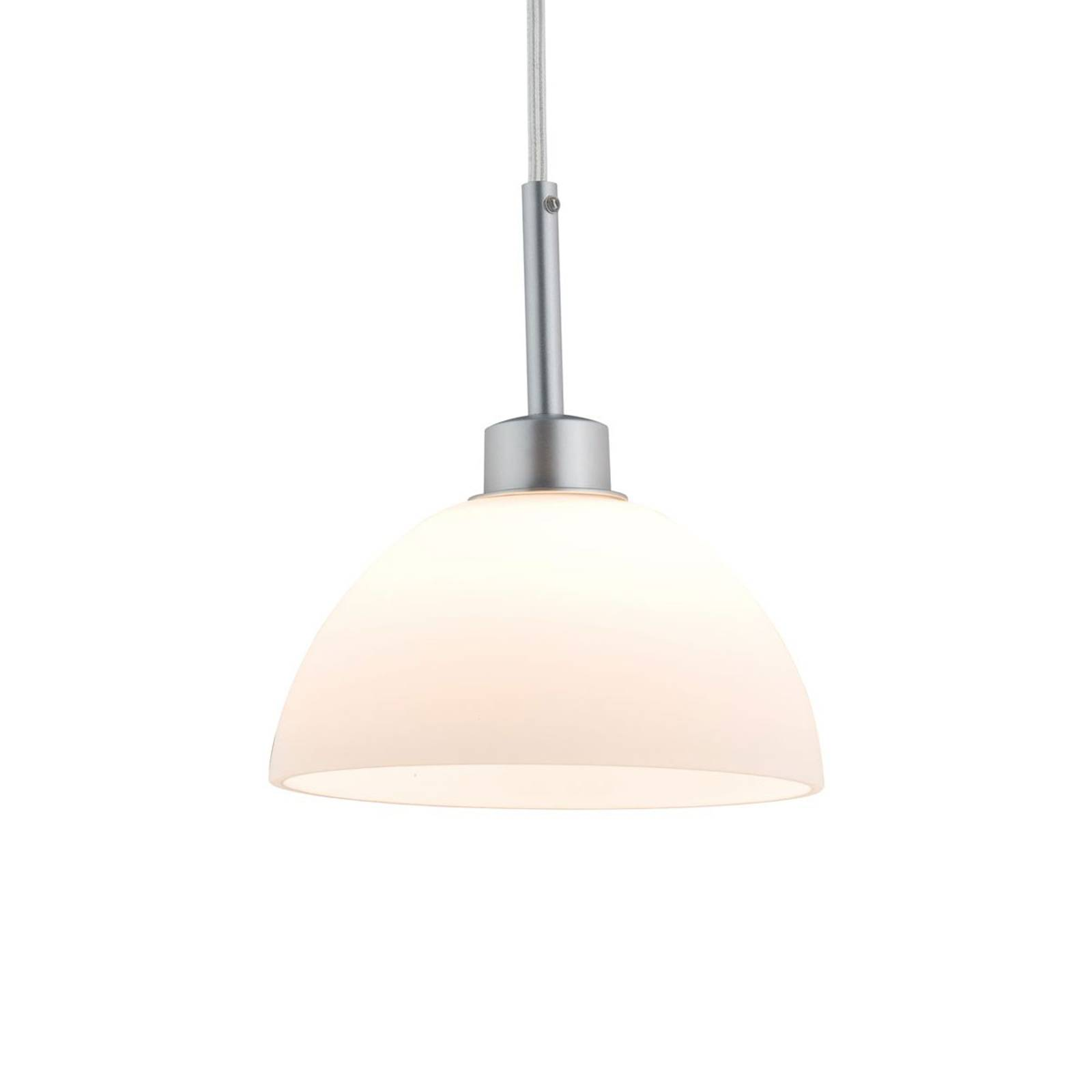 Paulmann URail Sarrasani glashanglamp, chroom mat
