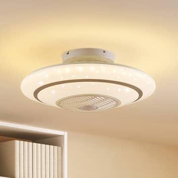 Lindby Kheira ventilateur de plafond LED, 28W