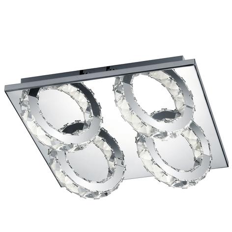 B-Leuchten Cascade lámpara LED de techo 4 luces