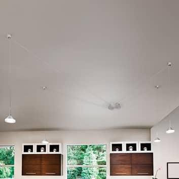 8 slotů pro kabely – závěsné LED světlo Isabella