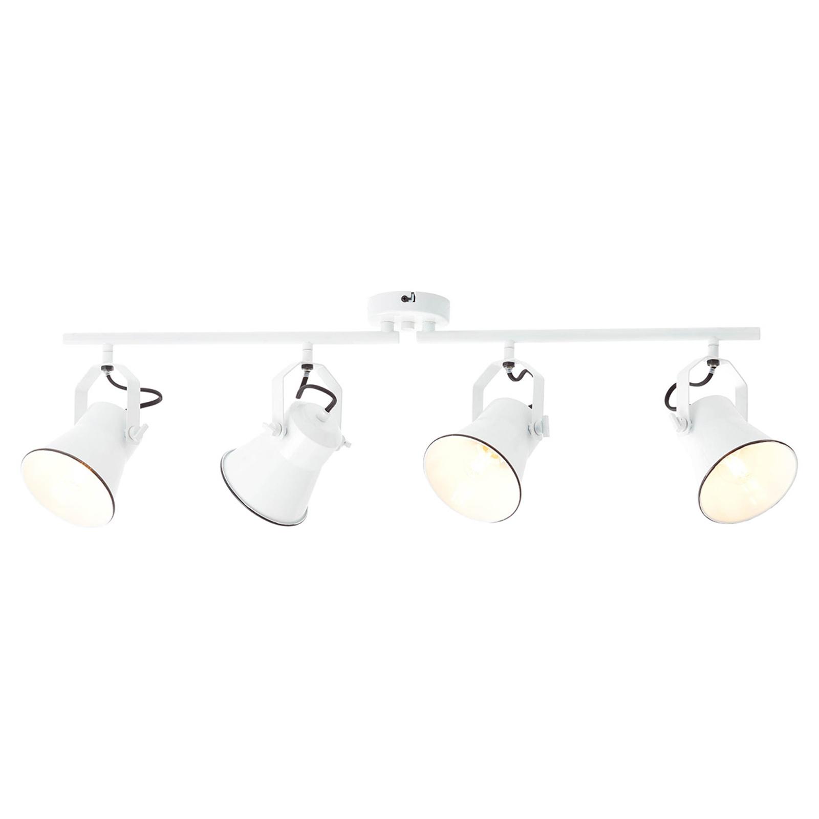 Takspotlight Croft svängbara huvuden 4 lampor