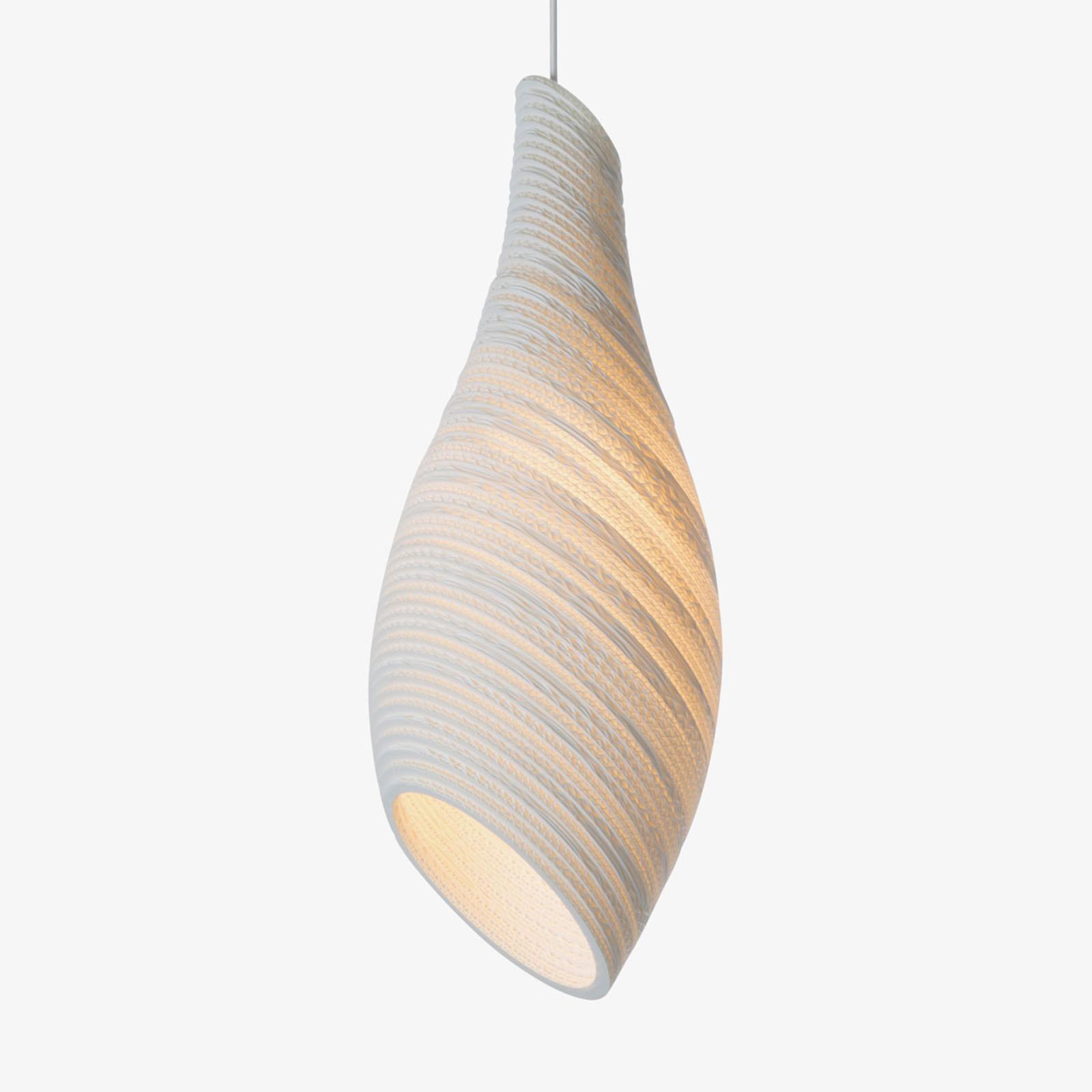 Nest24 hængelampe, hvid