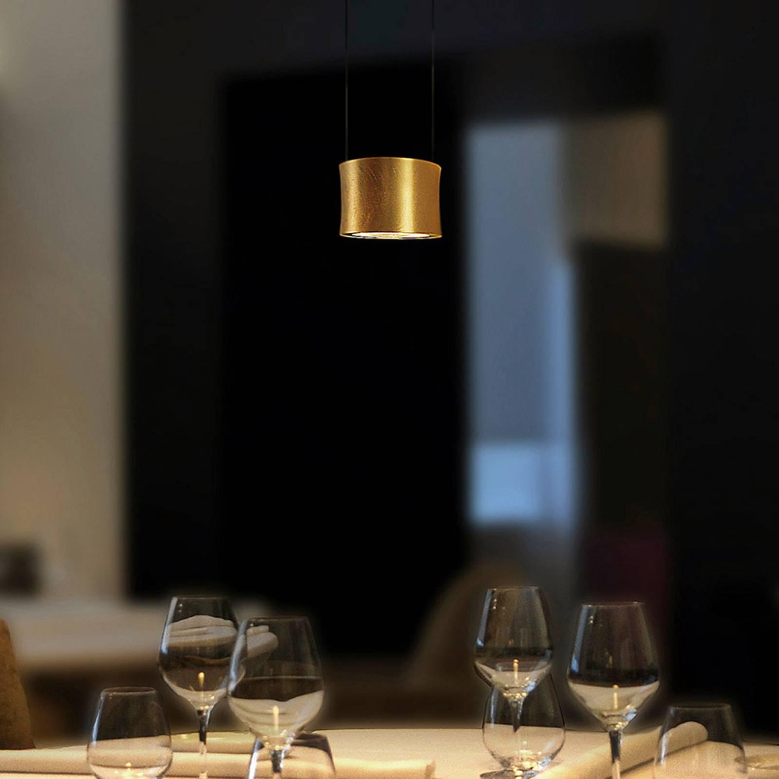BANKAMP Impulse LED hanglamp 1-lamp goud