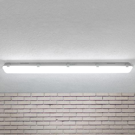 LED-Deckenleuchte Mareen IP65 34W 121,5cm