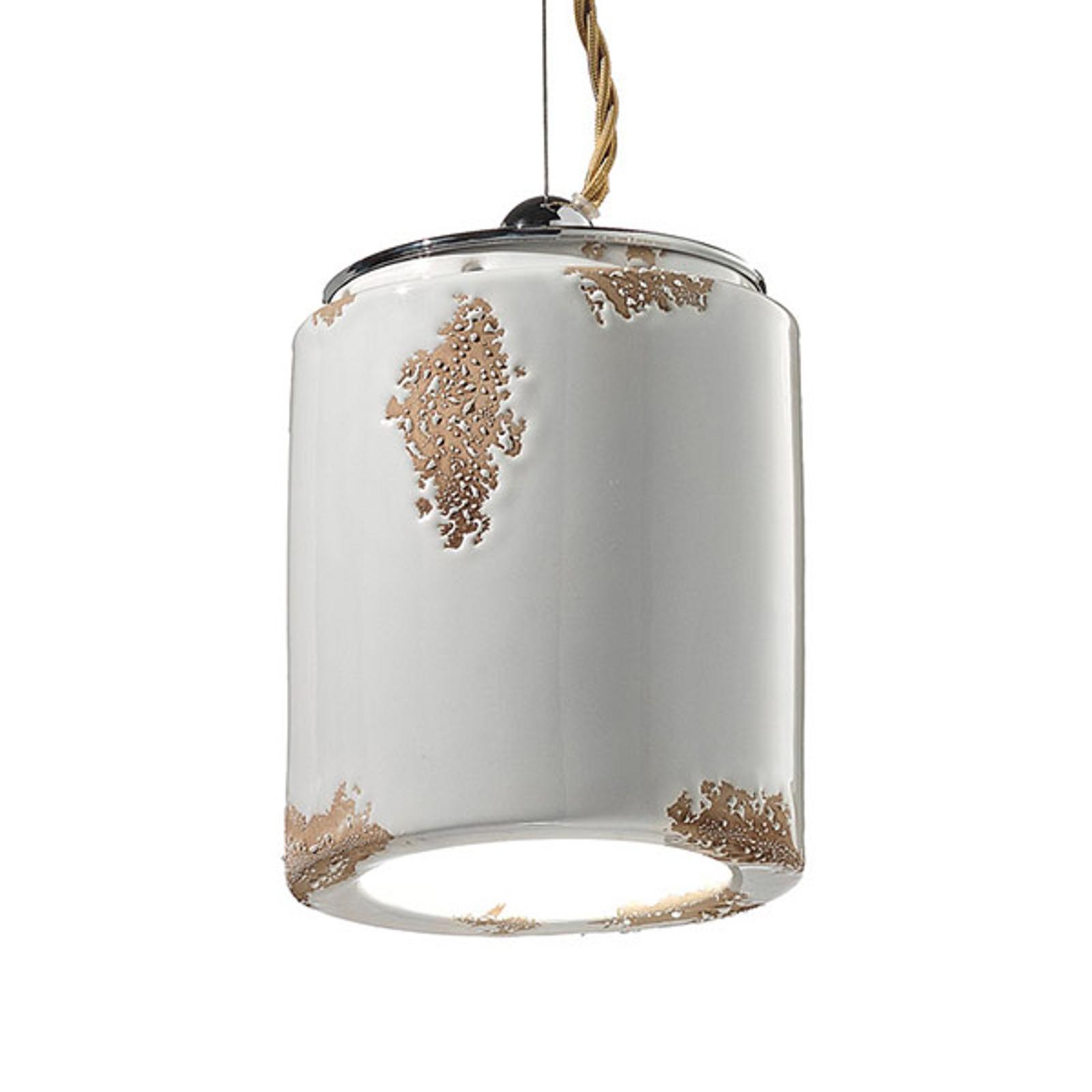 Vintage-hanglamp C984 wit