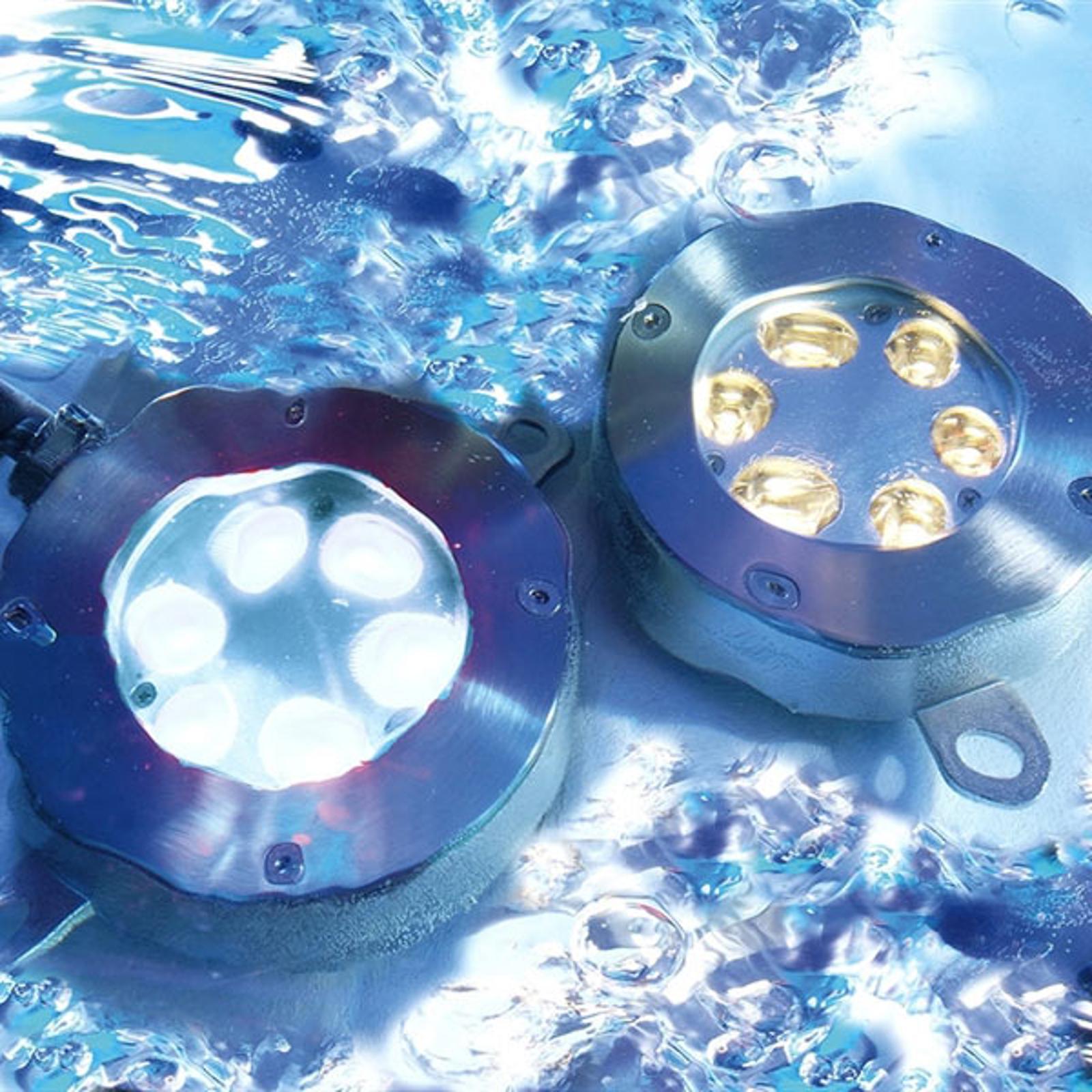 Onderwater vloerinbouwlamp, LED warmwit