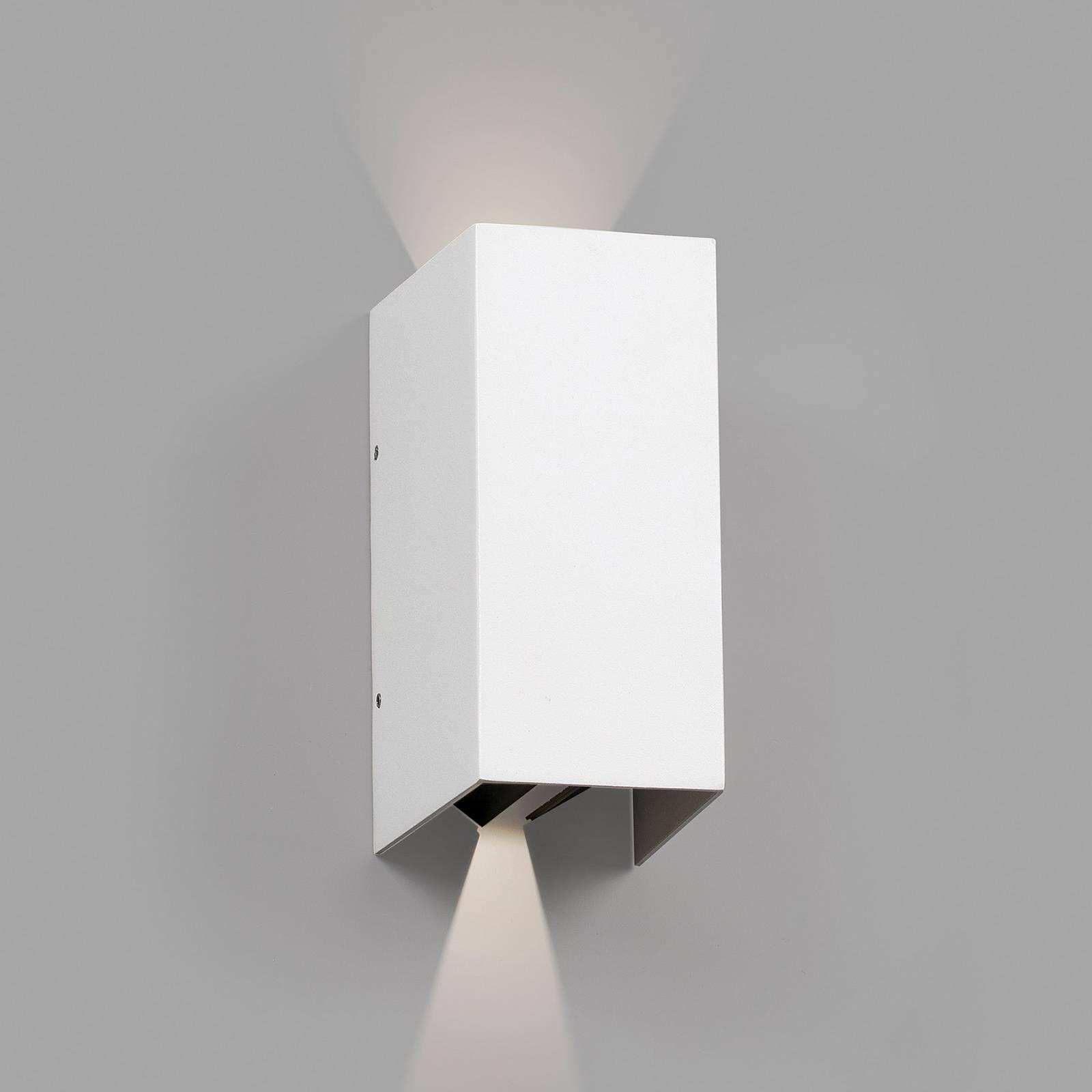 LED buitenwandlamp Blind, wit