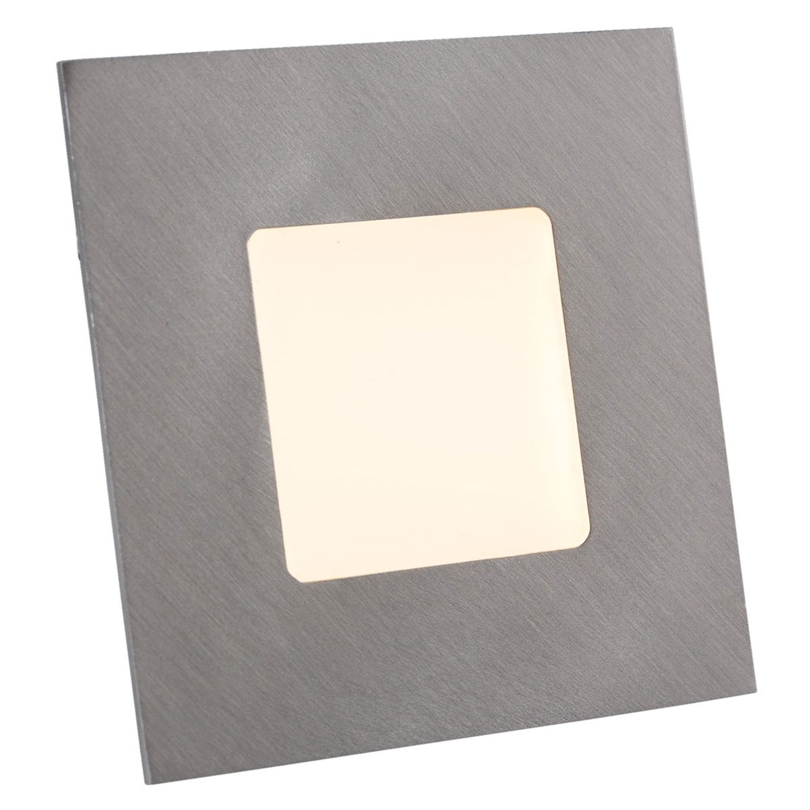 LED Einbauleuchte für Einbaudosen, silber