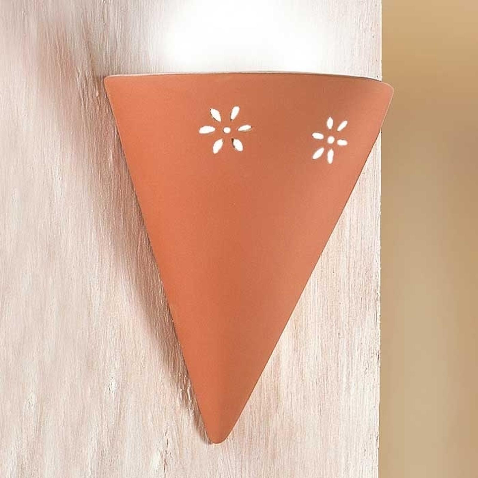 Lámpara de pared GIULIA de cerámica