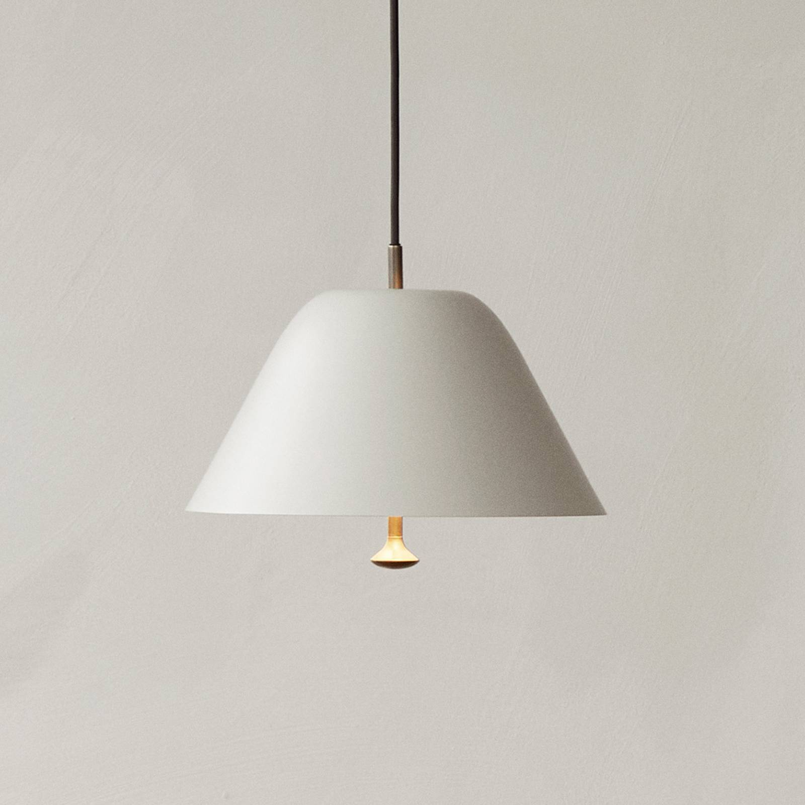 Menu Levitate hanglamp Ø 28 cm lichtgrijs