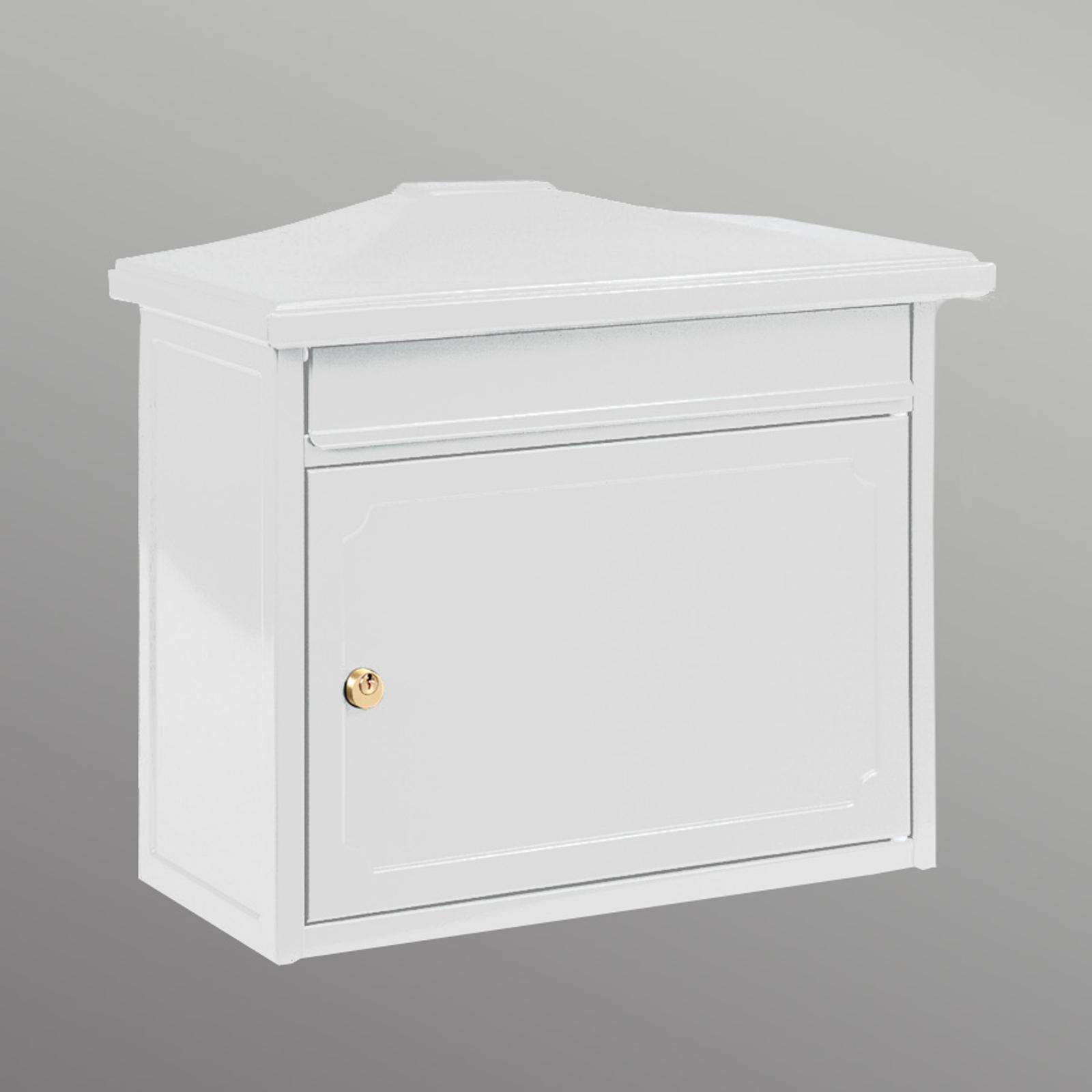Kopenhagen poštová schránka v bielej