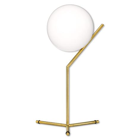 IC T1 - lampe à poser de FLOS, laiton brossé