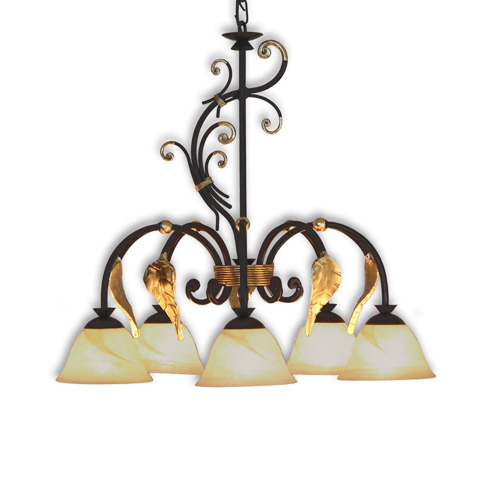 Florence Antik – ozdobna lampa wisząca