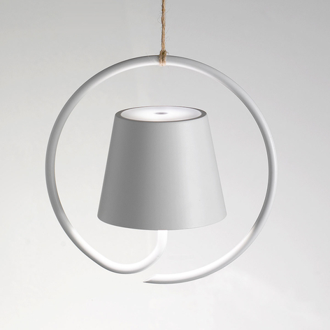 Suspension LED Poldina sur batterie